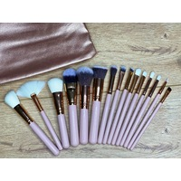 15PC Bag and Brush Set