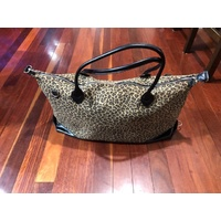 Overnight Leopard Print Bag