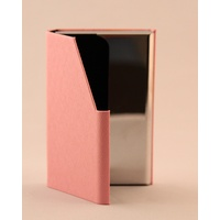 Business card Holder - BABY PINK