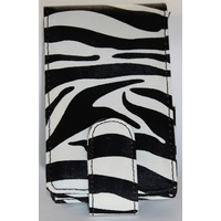 Black/White Zebra Pouch