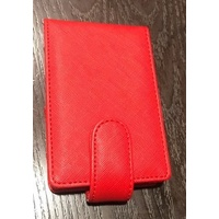 Textured Red Pouch